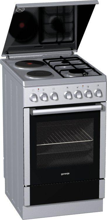 Комбинирана готварска печка Gorenje K57220AX2  ГОТВАРСКИ   -> Kuchnia Gazowa Gorenje Opinie