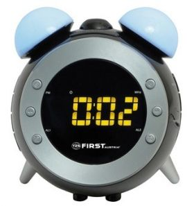 Метеостанция First 2461 - часы, будильник - белый