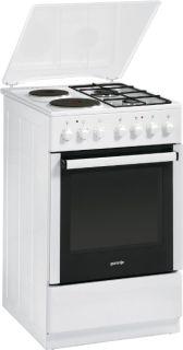 Комбинирана готварска печка Gorenje K57120АW2