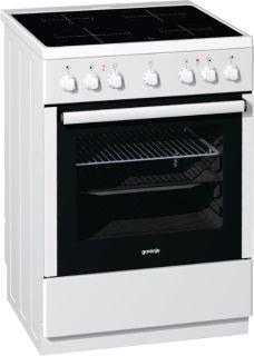 Стъклокерамична готварска печка Gorenje EC65320BW