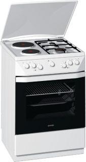 Комбинирана готварска печка Gorenje K55206AW2