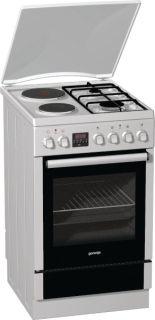 Комбинирана готварска печка Gorenje K65206BW