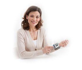 Апарат за измерване на кръвно налягане с Bluethooth Medisana BW 300 connect, Германия