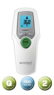 Ecomed TM 65E Infrared thermometer, Medisana AG GERMANY