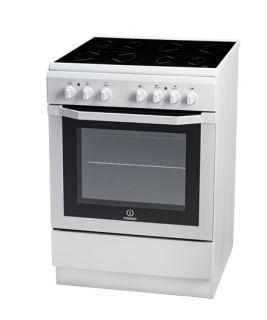 Стъклокерамична готварска печка Indesit I6VMC6A W