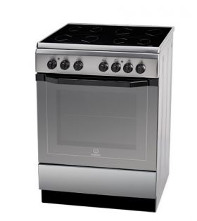 Стъклокерамична готварска печка Indesit I6VMH2A W