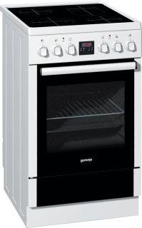 Стъклокерамична готварска печка Gorenje EC65210AW