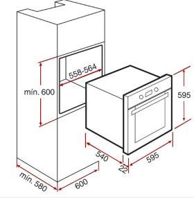 Промоция комплект за вграждане TEKA CLASSIC -  фурна, стъклокерамичен плот и  аспиратор