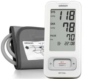 Апарат за измерване на кръвно налягане Omron MIT Elite