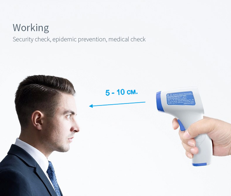 BUCKS hot selling Non contact infrared forehead thermometer