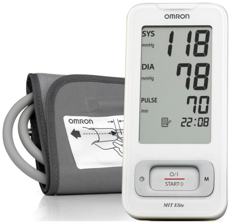 Апарат за измерване на кръвно налягане Omron MIT Elite..