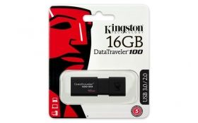 Флаш памет KINGSTON DATATRAVELER 100 G3, 16GB, USB 3.0, KIN-USB-DT100G3/16GB