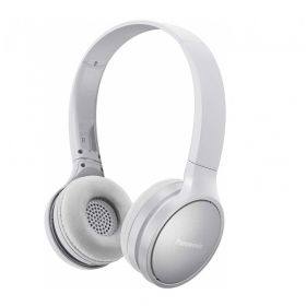 Безжични слушалки Panasonic RP-HF410BE-W, Bluetooth, white