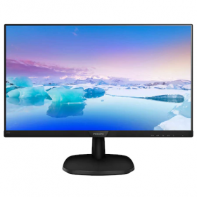 Philips 27 LED IPS, Full HD, VGA, DVI, HDMI, Black (273V7QDSB)
