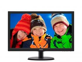 Monitor Philips 21.5 Slim TN, WLED, 1920x1080 60Hz, 90/65, 5ms, 200 cd/m2, (223V5LSB2/10)