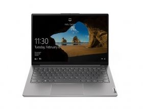 "Лаптоп Lenovo ThinkBook 13s G2 Intel Core i5-1135G7 (2.4MHz up to 4.2GHz, 8MB), 16GB Soldered LPDDR4x 4266MHz, 512GB SSD, 13.3"" WUXGA (1920x1200) IPS AG, Intel Iris Xe Graphics, WLAN, BT, 720p Cam, Backlit KB, FPR, 4 cell, Mineral Grey, DOS, 2Y"