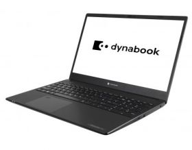 "Лаптоп Dynabook Toshiba Satellite Pro L50-G-1CM Intel Core i5-10210U(BGA), 15.6"" FHD AG, 8GB DDR4 2666 (1x8) , 2.5 SATA 1TB 5400 + M.2 PCIe 256G SSD (v), shared graphics, HD Camera w/ MICx2, BT, Intel 11ax+acagn,4 cell Batt, Black No OS"